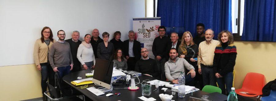 Monitoring meeting de los 6 meses del proyecto en las instalaciones de Flora Toscana, en Pescia – 21 de marzo de 2019