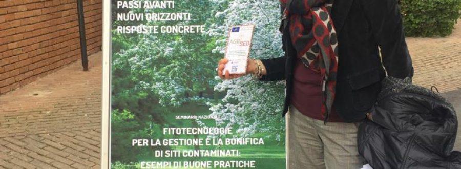 """LIFE Subsed at the seminar """"Fitotecnologie per la Gestione e la bonifica di siti contaminati: esempi di buone pratiche"""" held in Pesaro – 04 March 2019"""
