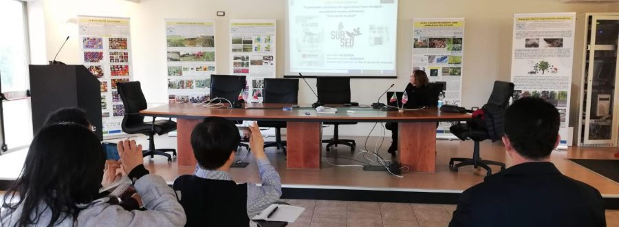 LIFE Subsed dissemination to a delegation of Chinese researchers from Beijing Academy of Agriculture and Forestry Sciences visiting CREA in Pescia as a part of an International Cooperation Project – 28 November 2019