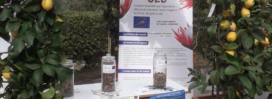 "LIFE Subsed at the Naturalitas exhibition at the Technical Agronomical Institute ""D. Anzillotti"" of Pescia (Italy) – 13-14 April 2019"