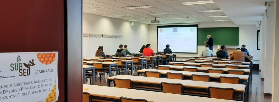 The new seminars for UMH students on the LIFE SUBSED project – November and December 2020